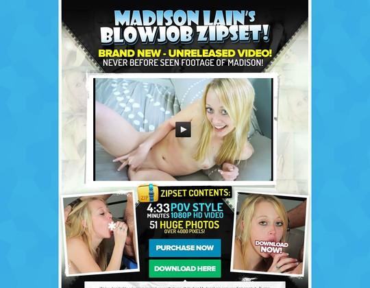 Madison Lain BJ Zipset