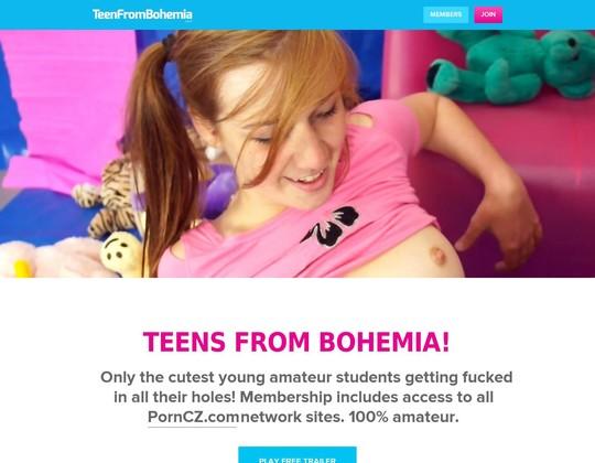 Teen From Bohemia