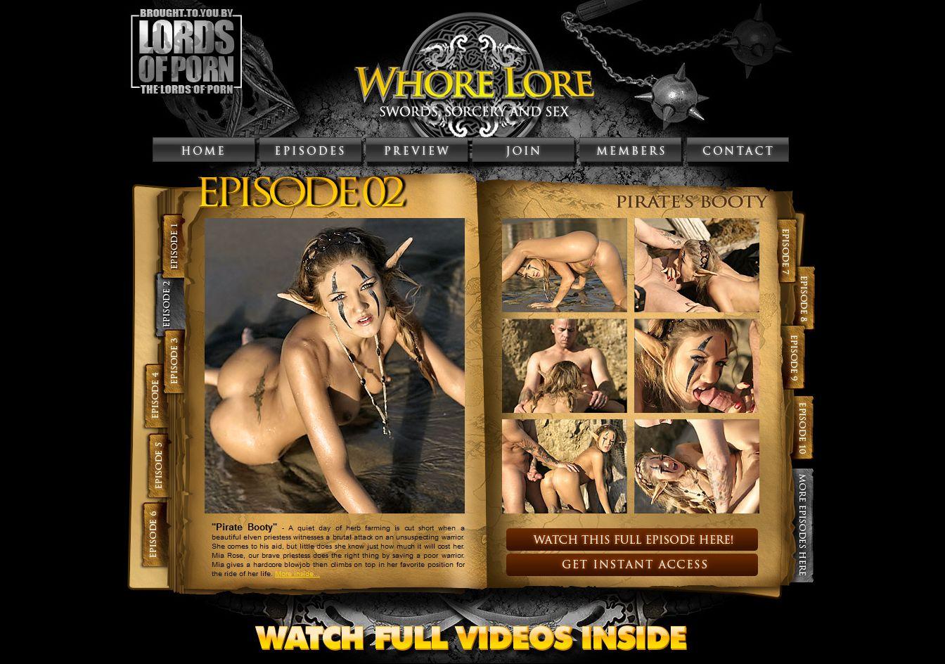 Whore lore episode 2 nackt pics