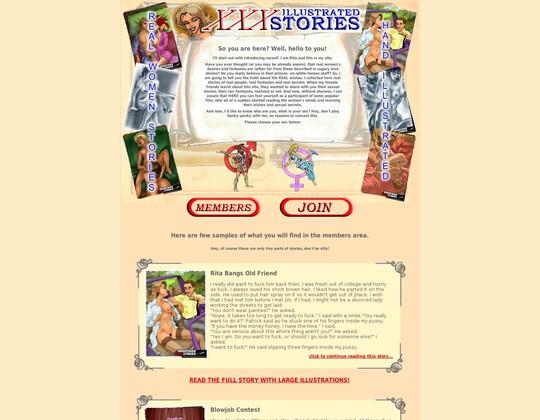 Illustrated XXX Stories