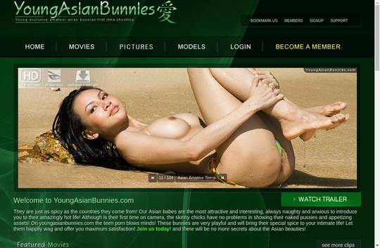 Young Asian Bunnies