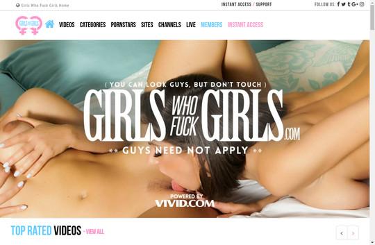 Girls Who Fuck Girls