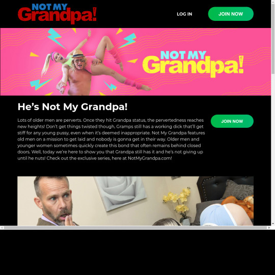 not my grandpa