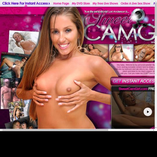 sweet cam girl